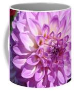 Art Prints Dahlia Flower Decorative Art Garden Baslee Coffee Mug