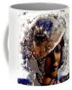 Art Vintage She Fragmented Coffee Mug