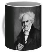 Arthur Schopenhauer Coffee Mug by Granger