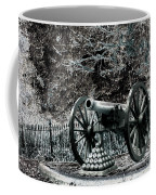 Artillery At Pickettes Charge Coffee Mug