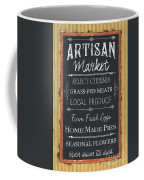 Artisan Market Sign Coffee Mug