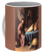 Artist In His Studio 1632 Coffee Mug