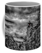 Artistic Bass Harbor Lighthouse In Acadia Coffee Mug