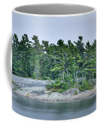 Artistic Granite And Trees  Coffee Mug