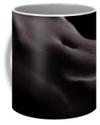 Artistic Nude Abstract Black And White Body Parts Of A Sexy Woma Coffee Mug