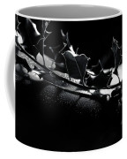 Artistic Nude Abstract Closeup Of A Thorny Holly Tree Branch On  Coffee Mug
