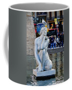 Artistic Statue That Has Gone To The Birds In Barcelona Coffee Mug