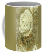 Artistic Vintage Floral Art With Double Overlay Coffee Mug