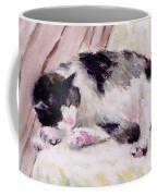Artist's Cat Sleeping Coffee Mug