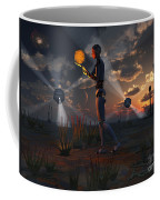 Artists Concept Of A Quest To Find New Coffee Mug