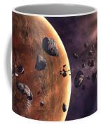 Artists Concept Of A Supernova Coffee Mug