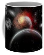 Artists Concept Of Cosmic Contrast Coffee Mug by Mark Stevenson