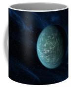 Artists Concept Of Kepler 22b, An Coffee Mug by Stocktrek Images