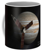 Artists Concept Of The Juno Spacecraft Coffee Mug by Stocktrek Images