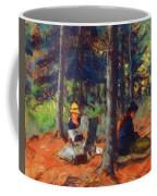 Artists In The Woods Coffee Mug