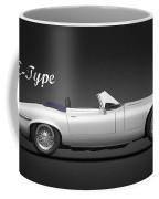 Jaguar E Type Coffee Mug