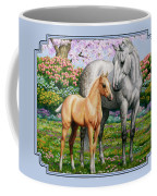 Spring's Gift - Mare And Foal Coffee Mug