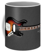 Fender Jazzbass 74 Coffee Mug