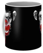 Evil Monkey Clown Coffee Mug