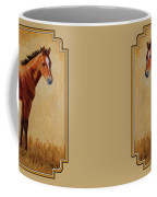 Afternoon Glow Coffee Mug by Crista Forest