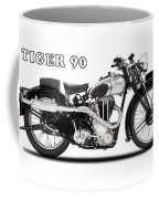 Triumph Tiger 90 1937 Coffee Mug