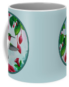 Bird Painting - Hummingbird Heaven Coffee Mug by Crista Forest