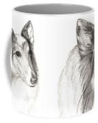 Remembering Maggie - A Tribute To A Collie Coffee Mug