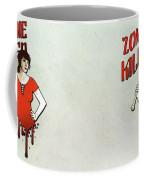 Zombie Killer Coffee Mug by Nicklas Gustafsson