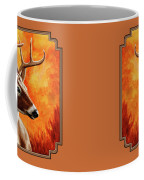 Whitetail Buck Portrait Coffee Mug
