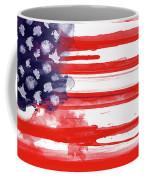 American Spatter Flag Coffee Mug