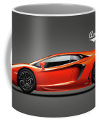 The Lamborghini Aventador Coffee Mug