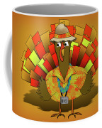 Vacation Turkey Illustration Coffee Mug