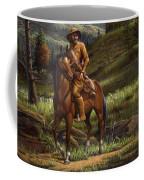 Jim Bridger - Mountain Man - Frontiersman - Trapper - Wyoming Landscape Coffee Mug
