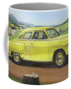 Studebaker Champion Antique Americana Nostagic Rustic Rural Farm Country Auto Car Painting Coffee Mug