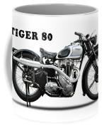 Triumph Tiger 80 1937 Coffee Mug
