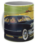 1950 Custom Ford - Square Format Image Picture Coffee Mug