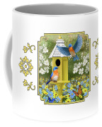 Bluebird Garden Home Coffee Mug