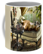 Funny Pet Talking On The Phone  Coffee Mug