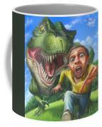 Tyrannosaurus Rex Jurassic Park Dinosaur - T Rex - Paleoart- Fantasy - Extinct Predator Coffee Mug