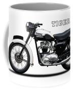Triumph Tiger 110 1959 Coffee Mug