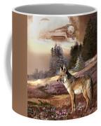 Encounter With The Iron Hors  Coffee Mug