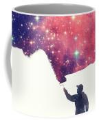 Painting The Universe Awsome Space Art Design Coffee Mug