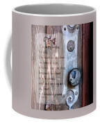 Chapel Door - Verse Coffee Mug