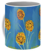 Carnations Against A Summer Sky Coffee Mug