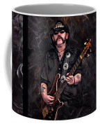 Lemmy Kilmister With Guitar Coffee Mug