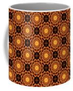 Fiery Sunflower Wallpaper Coffee Mug