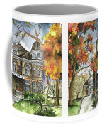 Victorian Mansion Coffee Mug