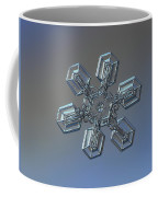 Snowflake Photo - High Voltage Coffee Mug by Alexey Kljatov
