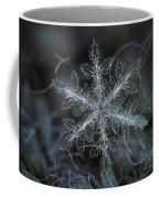 Leaves Of Ice, Panoramic Version Coffee Mug