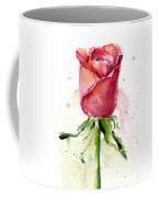 Rose Watercolor Coffee Mug